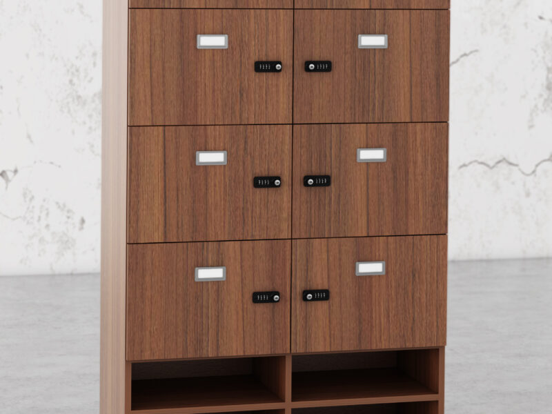 N19463 Walnut Combi Lock