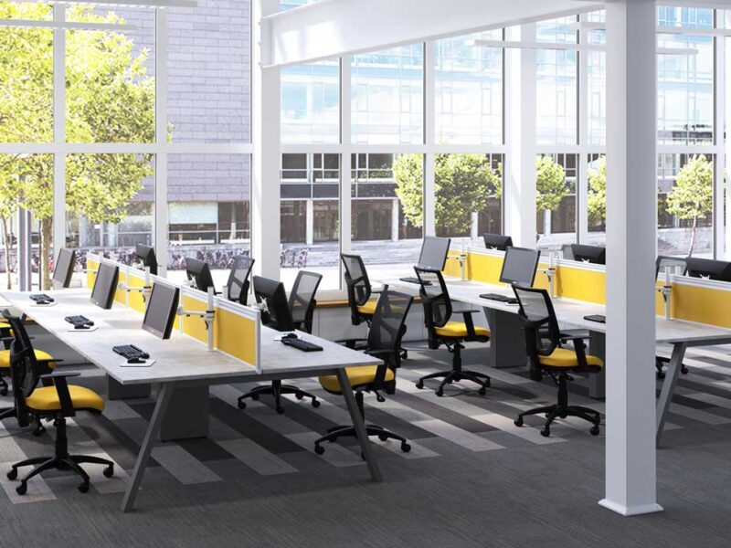 Bench Desking Supplier Worcestershire