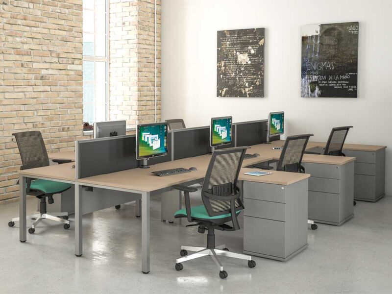 Contemporary Bench Desking