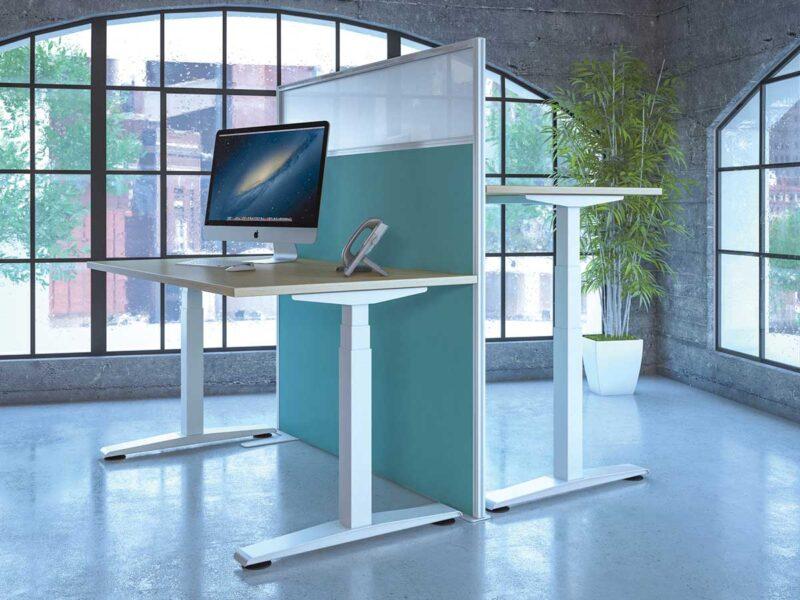 Ergonomic Height Adjustable Sit Stand Desks
