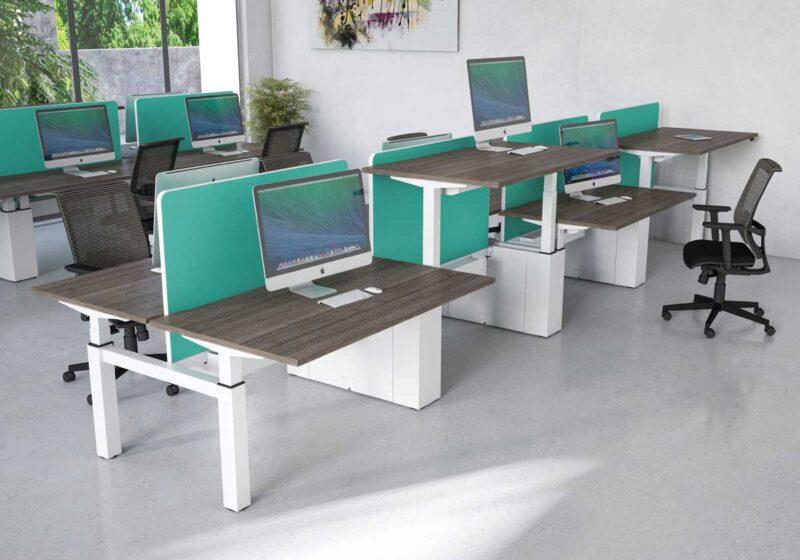Height Adjustable Sit Stand Desks