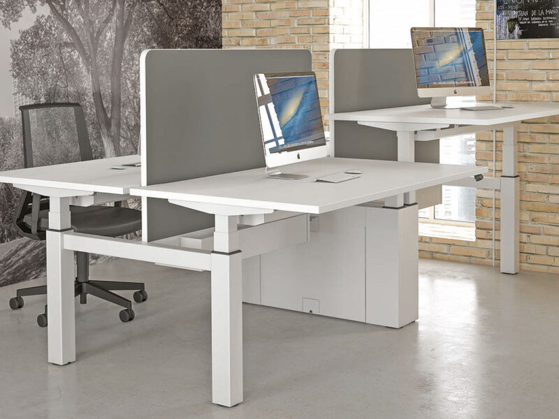 Office Sit Stand Desking Worcestershire