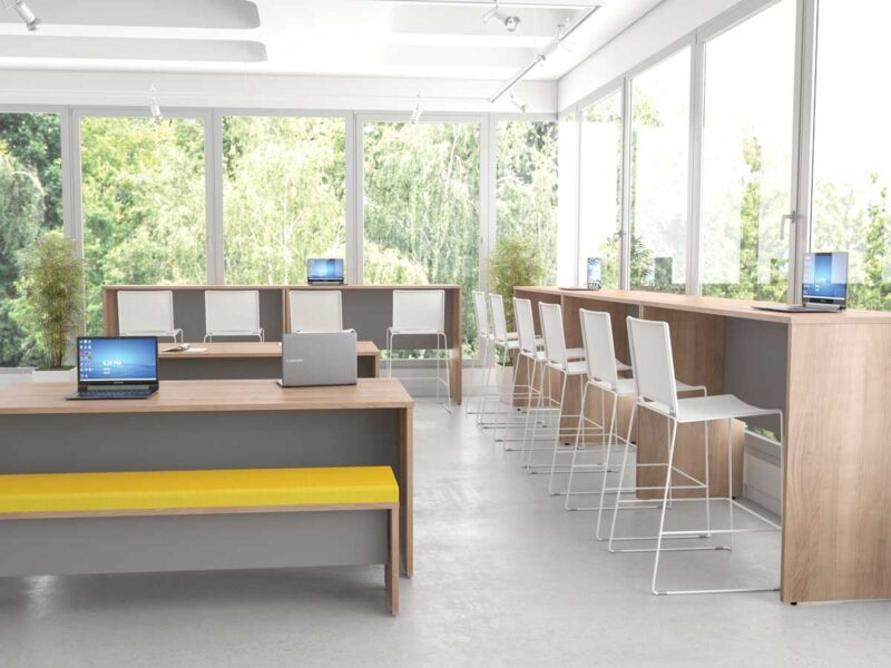 Office Breakout Area Seating Planning