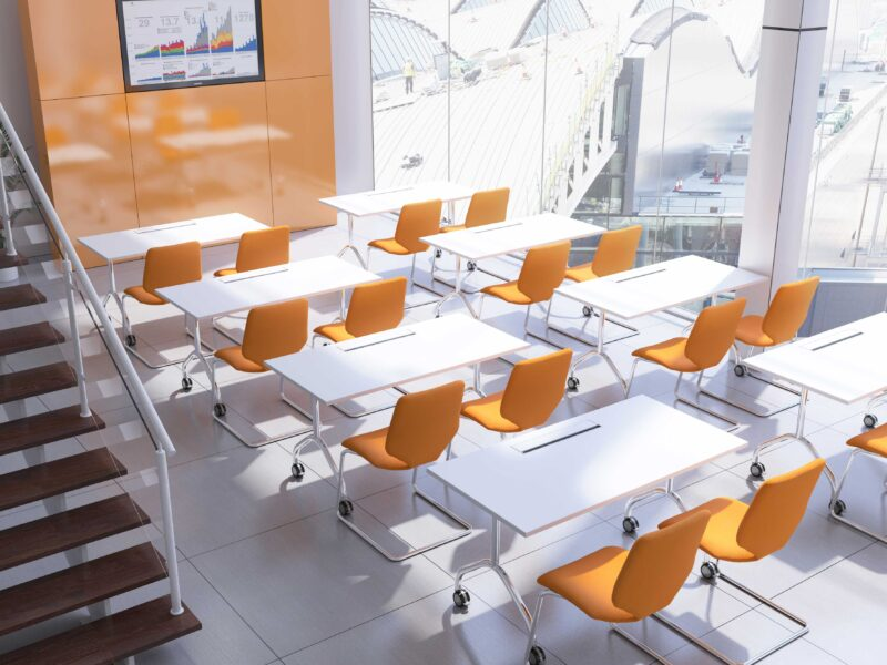 Flip Top Office Table Supplier