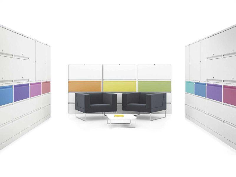 Modern Metal Office Storage Systems