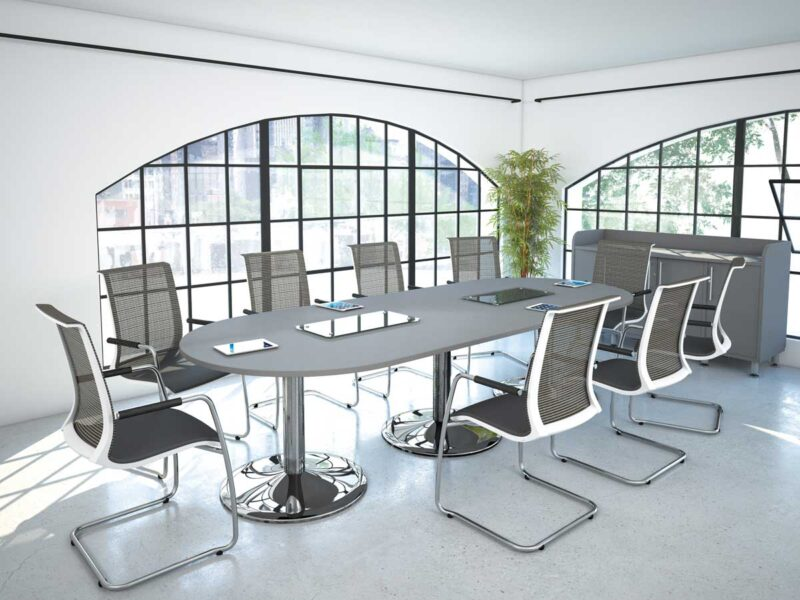 Round End Boardroom Tables