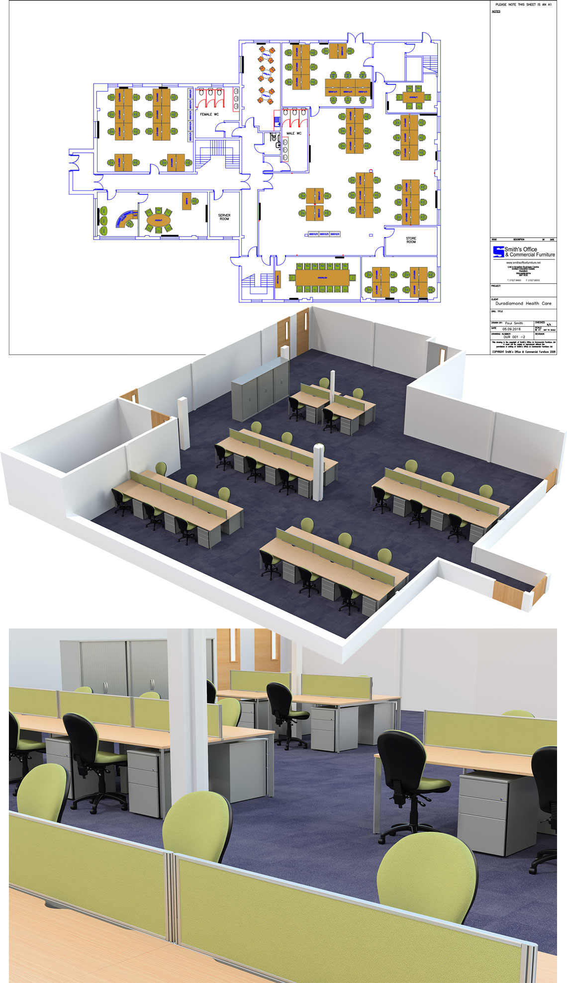 Office Furniture Space Planning Service